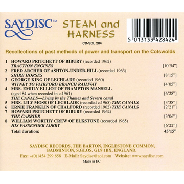 Various Steam and Harness