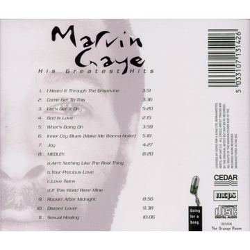 GAYE,MARVIN HIS GREATEST HITS
