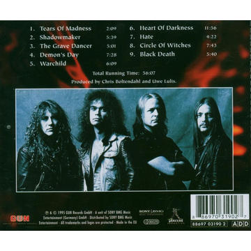 Grave Digger Heart Of Darkness-Remastered 2006