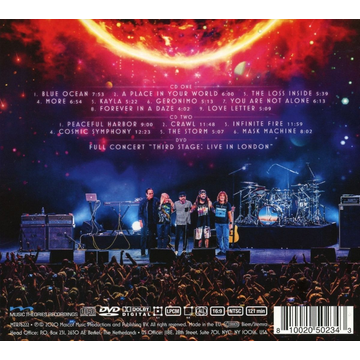 Flying Colors Third Stage: Live In London (2CD+DVD Digipak)