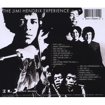 Hendrix,Jimi Experience Are You Experienced