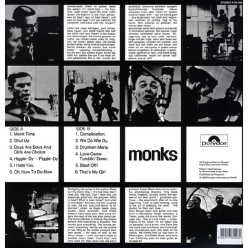 Monks,The Black Monk Time