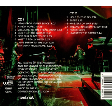 RPWL Live From Outer Space (2CD-Digipak)
