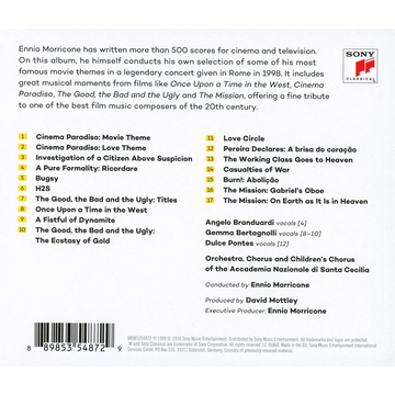 Morricone,Ennio Ennio Morricone Conducts Morricone: His Greatest Hits