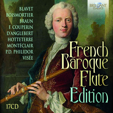 Various French Baroque Flute Edition