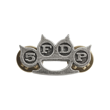 Five Finger Death Punch Knuckle Duster (Pin Badge)