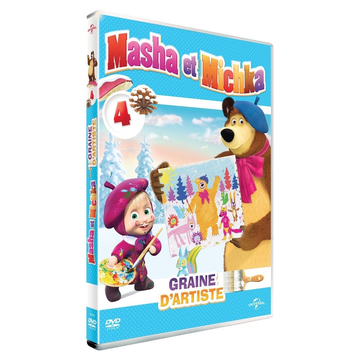 VARIOUS ARTISTS Masha & Michka Vol. 4 - Graine d' artiste