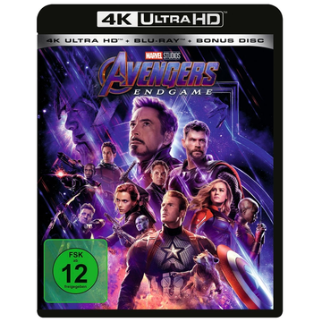 Russo, Anthony Avengers - Endgame - 4K + 2D - (3 Disc)