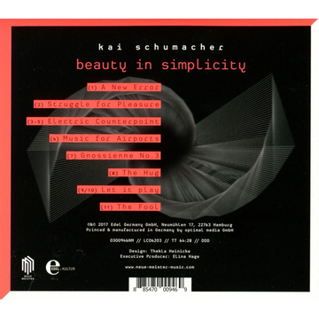 Schumacher,Kai Beauty In Simplicity