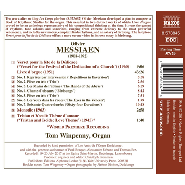Winpenny,Tom Messiaen: Livre d'orgue