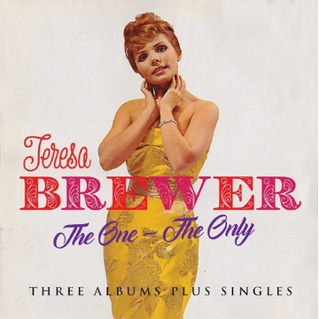 Brewer,Teresa Jasmine Records Teresa BREWER - The One -The Only - Three Albums Plus Singles CD