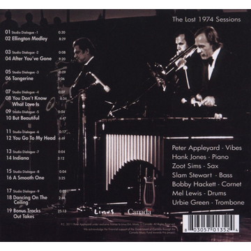 Appleyard,Peter And The Jazz Lost 1974 Sessions