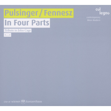 Pulsinger,P. In Four Parts-Tribute To John Cage