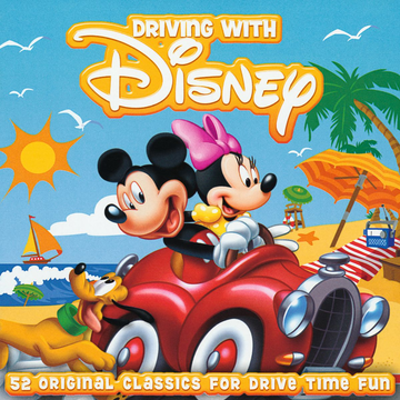 Various Driving With Disney (2-CD Edition) Englisch