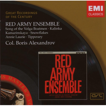 Red Army Ensemble Songs Of The Volga Boatmen