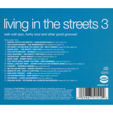 VARIOUS Living in the Streets, Vol. 3