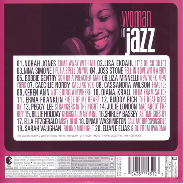 VARIOUS ARTISTS WOMAN IN JAZZ