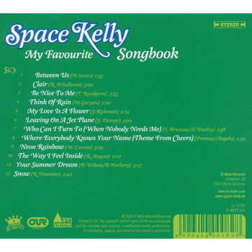 Space Kelly My Favourite Songbook