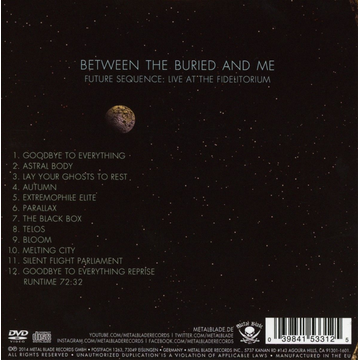 Between the Buried and Me Future Sequence: Live At The Fidelitorium