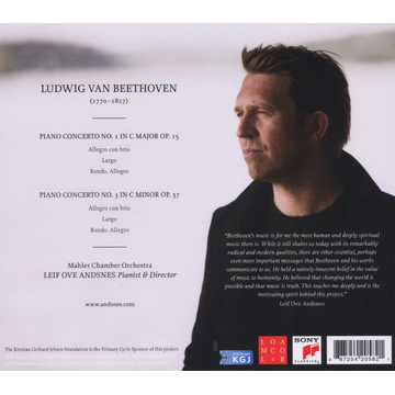 Andsnes,Leif Ove Beethoven Journey: Piano Concertos Nos. 1 & 3