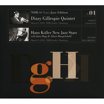 Gillespie,Dizzy Quintet March 9th, 1953, NDR Studio Hamburg