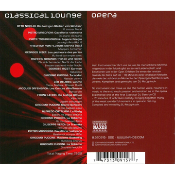 Various Classical Lounge: Opera