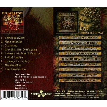 Kataklysm Prophecy/Epic: The Poetry of War