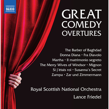 Friedel,Lance Great Comedy Overtures