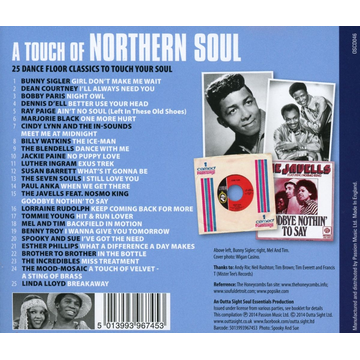 Various A Touch Of Northern Soul
