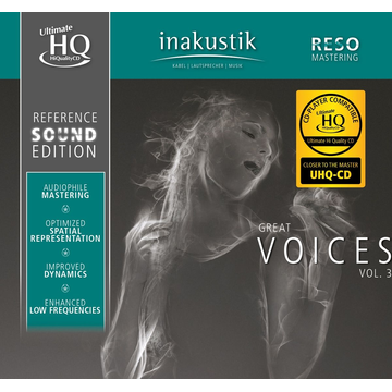 Reference Sound Edition Great Voices,Vol.3 (U-HQCD)