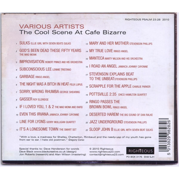 Various The Cool Scene At Cafe Bizarre