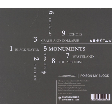 Poison My Blood Monuments