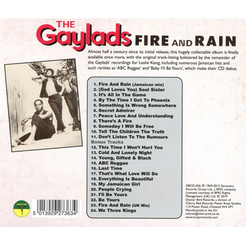 Gaylads,The Fire and Rain