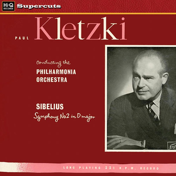 Kletzki Sibelius: Symphony No. 2 in D major