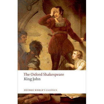 Shakespeare, William ISBN King John: The Oxford Shakespeare book English Hardcover 320 pages