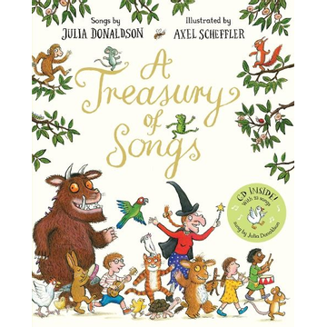 Donaldson, Julia ISBN A Treasury of Songs book English Paperback 96 pages