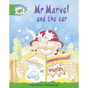 Pearson ELT Literacy Edition Storyworlds Stage 3: Fantasy World, Mr Marvel and the Car
