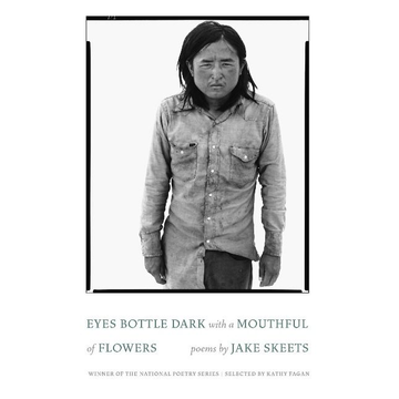 Skeets, Jake Eyes Bottle Dark with a Mouthful of Flowers