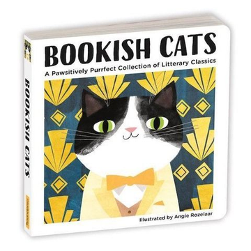 Abrams & Chronicle Books Bookish Cats Board Book