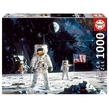 Educa Puzzle.  First men on the moon 1000 Teile