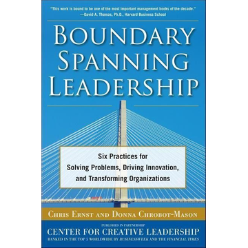 Chrobot-Mason, Donna Boundary Spanning Leadership: Six Practices for Solving Problems, Driving Innovation, and Transforming Organizations