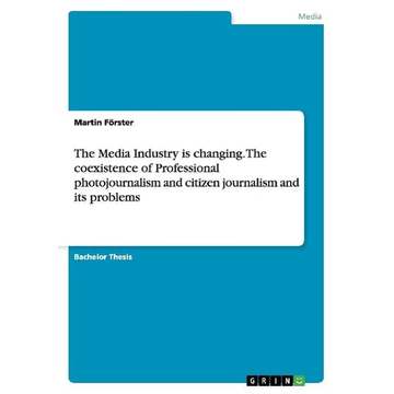 Förster, Martin The Media Industry is changing. The coexistence of Professional photojournalism and citizen journalism and its problems