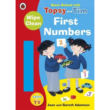 Adamson, Jean Start School with Topsy and Tim: Wipe Clean First Numbers