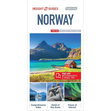 APA Publications Ltd Insight Guides Travel Map Norway