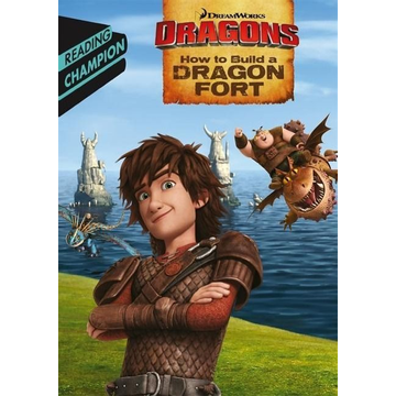How to Train Your Dragon TV Hachette UK How to Build a Dragon Fort book English Paperback 32 pages