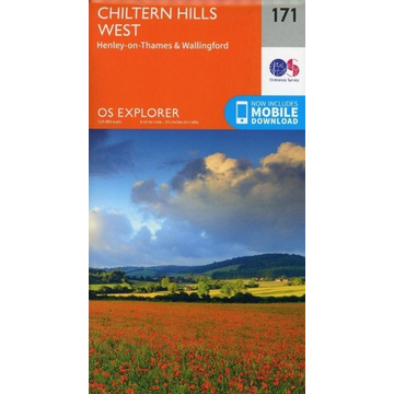 Ordnance Survey Chiltern Hills West, Henley-on-Thames and Wallingford