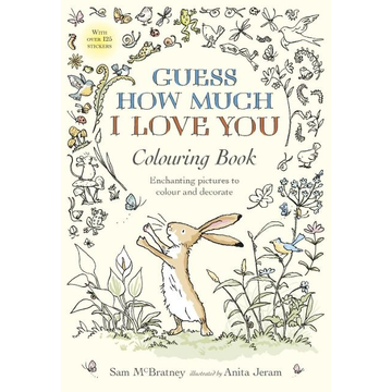 McBratney, Sam Guess How Much I Love You Colouring Book