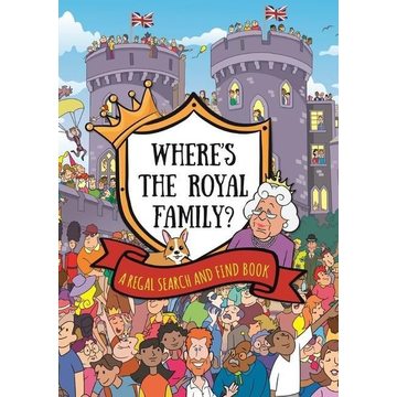 Hachette Children's Group Where's the Royal Family? A Regal Search and Find Book