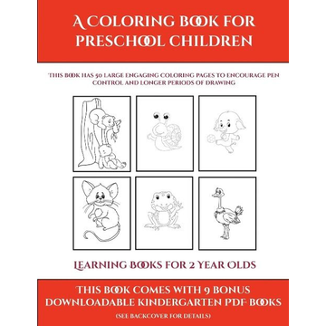 Manning, James Learning Books for 2 Year Olds (A Coloring book for Preschool Children)
