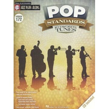 Pop Standards: Jazz Play-Along Volume 172 [With CD (Audio)]